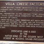 History of the Vella Cheese Factory