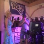 Karaoke on the deck Thursday