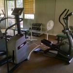 Fitness center in the main building