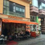 カフェ兼ホテル