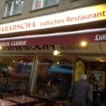 Nice place for Indian food in Berlin