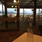 ホテルのレストランからの眺め