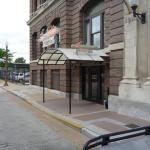 Main entrance at Drury Inn
