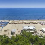 la vista panoramica e la nostra spiaggia