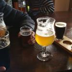 Beer and beer sampler
