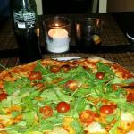 Maravillosa y sabrosisima pizza
