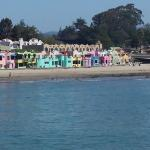 Beach from the Capitola Wharf