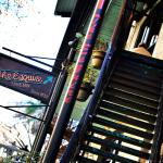 Climb right up to our patio from the San Antonio Riverwalk; enjoy the breeze and people watching
