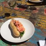 Lobster Roll at Two Buoys