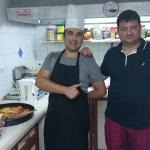 Manager Cem and the Chef