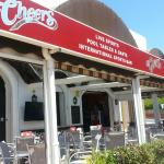 NEW CHEERS SIGNAGE