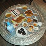 Local delicacies prepared on the premises.