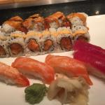 Friday night and the place was absolutely packed. The sushi was fresh and delicious. As it's AYC