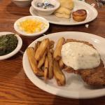 Chicken fried chicken plate