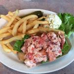 Grabbed lunch with a friend. I had the lobster roll and he had the friend clam roll - both were