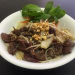 Vermicelli with lemongrass beef B12