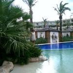 pool whit sand