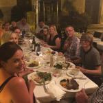 Family meal at La Placeta