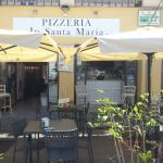 Pizzeria In Santa Maria Foto