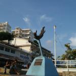 La Quebrada. Памятник ныряльщикам