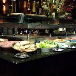 Cold buffet at Fogo de Chao