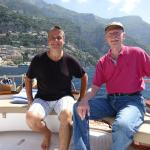 Our arrival to Positano