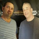 Mike and Jon Taffer custout at Chilleens on 17