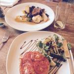 Venison & tomato tart - yum!