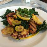 chorizo and kale salad