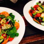 Yummy summer salads