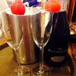 Prosecco also available by the glass