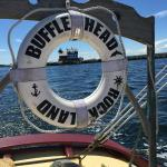 First lighthouse in the eye of the preserver on board