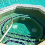 The hot tub was green with slime.  The pool man stated it needed to be fixed, it had been that w