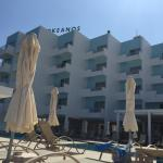 General photos of the hotel and beach