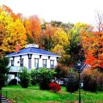 Fall view of the house