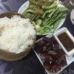 Grilled Beef and Sticky Rice