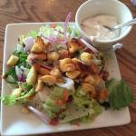 House salad with Gorgonzola dressing