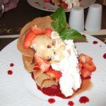 croustillant aux fraises sans chantilly !