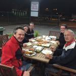 Guests enjoying meal at Masallas