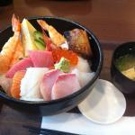 Kaisen-don (rice bowl with fresh sashimi)