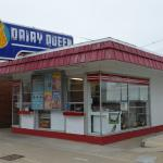 Cute little Dairy Queen just down the street from hotel.