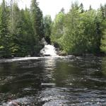 Falls on Gowganda Lake