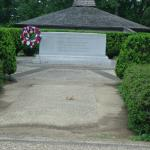 The unknown Revolutionary Soldiers tomb