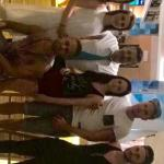 arslan dean and nolwenn staff at the hotel