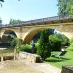 Petit jardin au bord de la Dordogne