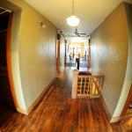 Hallways with wood floors