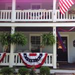 Decorated for the 4th of July