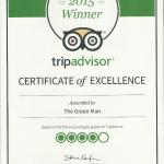 We are proud to announce we have been awarded a certificate of excellence