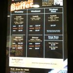 The menu choice