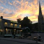 A beautiful June evening at The Ranmoor Inn